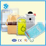 Clear acrylic retail blister packaging case pvc box for cellular cell phone accessories