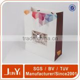 Colorful ivory wedding bottle paper bags