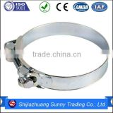 America type worm gear hose clamp with band 12.7mm hot selling