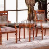 top grade quality 4 legs wood round tea table wood tea table (NG2662)