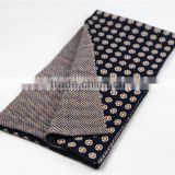 Fashion dot pattern double-sided thick heavy women knit scarf