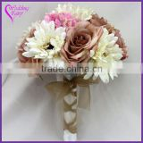 LATEST ARRIVAL Artificial Flowers Fine Design bouquet bridal accessories made in china