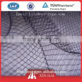 Black Strong Heavy duty Anti UV treated Virgin HDPE Pigeon Netting Bird Proof Nets Knotted Building Bird