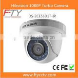 Shenzhen CCTV Manufacturer Hikvision DS-2CE56D1T-IR Turbo HD 1080P IP66 IR Dome HD TVI Camera