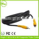 12ft Single RCA RG59security Camera Video/SPDIF Digital Audio Cable/Cord/Wire