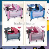 folding baby playpen kids plastic playpen