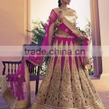 Prudent Purple Net Lehenga Choli/fancy lehenga choli/Lehenga Choli Wholesaler In India