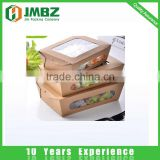 Biodegradable paper food containers for takeaway