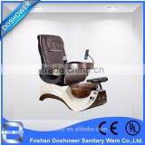 Luxury pedicure supplies of pedicure chair glass bowl, detox foot spa with price