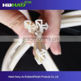 Custom made super transparent food grade injection molding silicone sealing strips for food containers