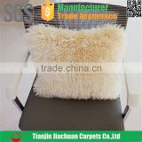 polyester chenille shaggy anti fatigue comfortable decorative cheap wholesale hotel pillow