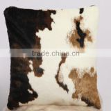 Animal Cow Skin Pattern Soft Faux Fur Decorative Throw Pillow Cover ,car seat cushion Case