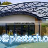 sun protection for buildings economic roof covering balcony cover sheet roof materials polycarbonate