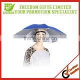 Promotional Cheap Logo Printed Umbrella Hat