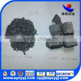 chinese factory supply silicon calcium mental /SiCa ferro alloy with best quality and price