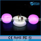 rgb color changing illuminated led round egg shape chair coffee shop furniture wholesale
