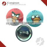 promotional custom angry bird badge
