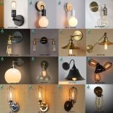 Retro big sale industrial rustic sconce cage decorative wall light lamp