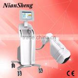 8MHz Hifu Anti Wrinkle Beauty Machine / Skin Rejuvenation Hifu Portable Machine Korea Cellulite Reduction Liposonix Machine