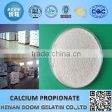 99% purity supplier calcium propionate e282 food preservative