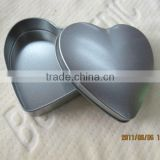 heart shape size:95*90*22mm tin boxes for cookies