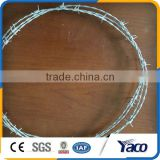 Beautiful surface treatment Two Strand Double Twisted Barbed Wire