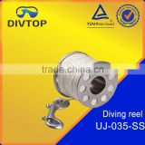 304 stainless steel reel diving reel seat