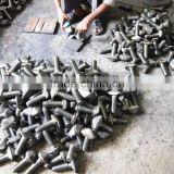 High Precision Stainless Steel Forging bolts machining