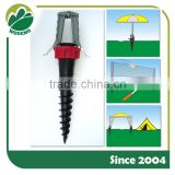Plastic Sun Beach Umbrella Anchor Garden Patio Parasol Umbrella Screw