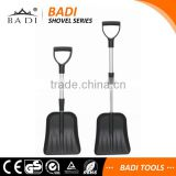 telescopic shaft D handle light weight snow shovels
