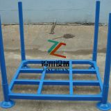 Blue Powder Coating Stacking Frame Rack For Parking System