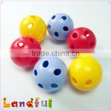 Colorful Plastic Jingle Ball Baby Rattle Inserts Jingle Bell for Stuffed Baby Toy