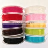 2017 CYG Round Elastic Latex-free Cord for Bracelet Making Knots Easily Stretchy