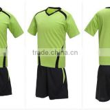 2016 new design custom barcelona soccer jersey football shorts different color China factory