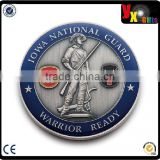 price per kg iron/Newest 3D Custom Metal Challenge Coin for Promotion with Head Portrait