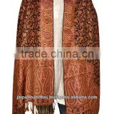 New Designer Traditional Stole Cheap Kashmiri Stole Shawls Designer Kashmri Pashmina Shawls Dupatta 2014