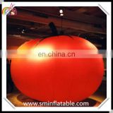Giant vegetable tomato helium balloon, advertising flying tomato helium model, pvc fruit helium balloon