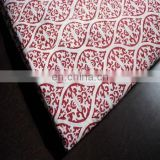 2.5 yards Hand Block Printed Handmade Cotton Indian Sanganeri flower printed SST