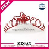 Popular girl Jewelry Headdress rhinestone tiaras Crown Hair comb