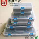 ER Collet set package toolbox, plastic packaging box, transparent plastic box.