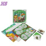 Wholesale custom printing children playing paper board game