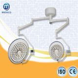 China SH MEDECO Germany Osram Medical Ceiling Type Double Dome LED Operating Shadowless Light 700/500 with Ce /ISO Approved