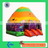 inflatable disco dome with LED light and MP3 player inside disco bouncy castle for sale                                                                         Quality Choice