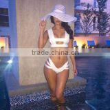 2016 high quality splicing beauty classic design women swimsuit brazilian bikini                                                                         Quality Choice
