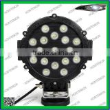 "4""round 51W led combination lamp, LED worklight for 4x4 offroad spot beam IP67,CE,Rohs"