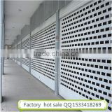 Electric aluminum alloy shutter door rolling up doors interior roll down doors for shopping mall