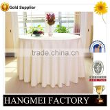 luxury special embroidery ivory hotel table cloth for wedding                                                                         Quality Choice
