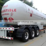 3 axles 56m3 lpg gas tank trailers,lpg tanker for sale
