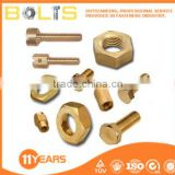 copper / brass bolts nuts