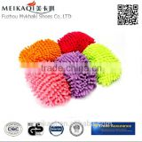 China factory chenille lazy footwear mop slipper for walking clean shoe